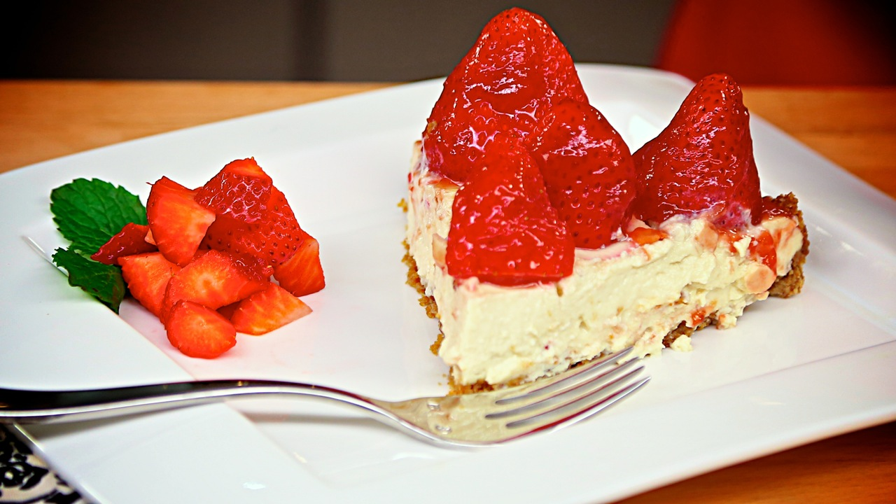 Strawberry Mountain Pie